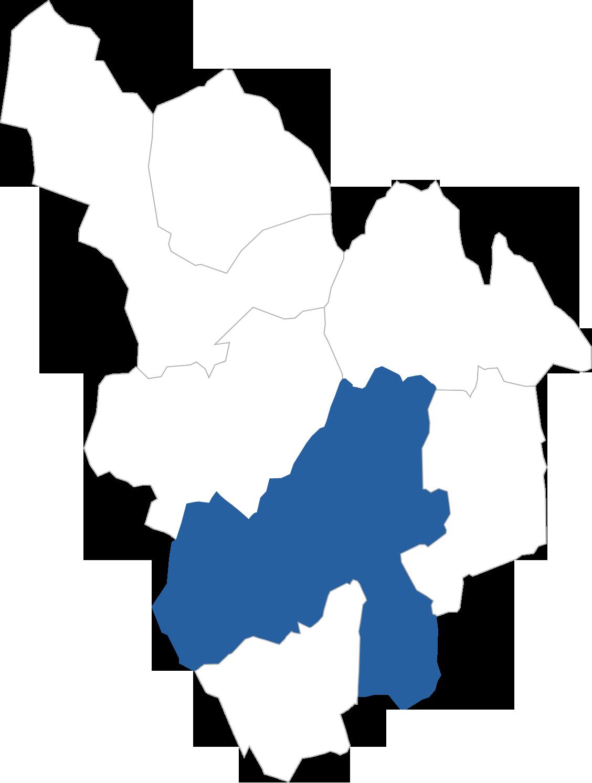 八幡町の位置