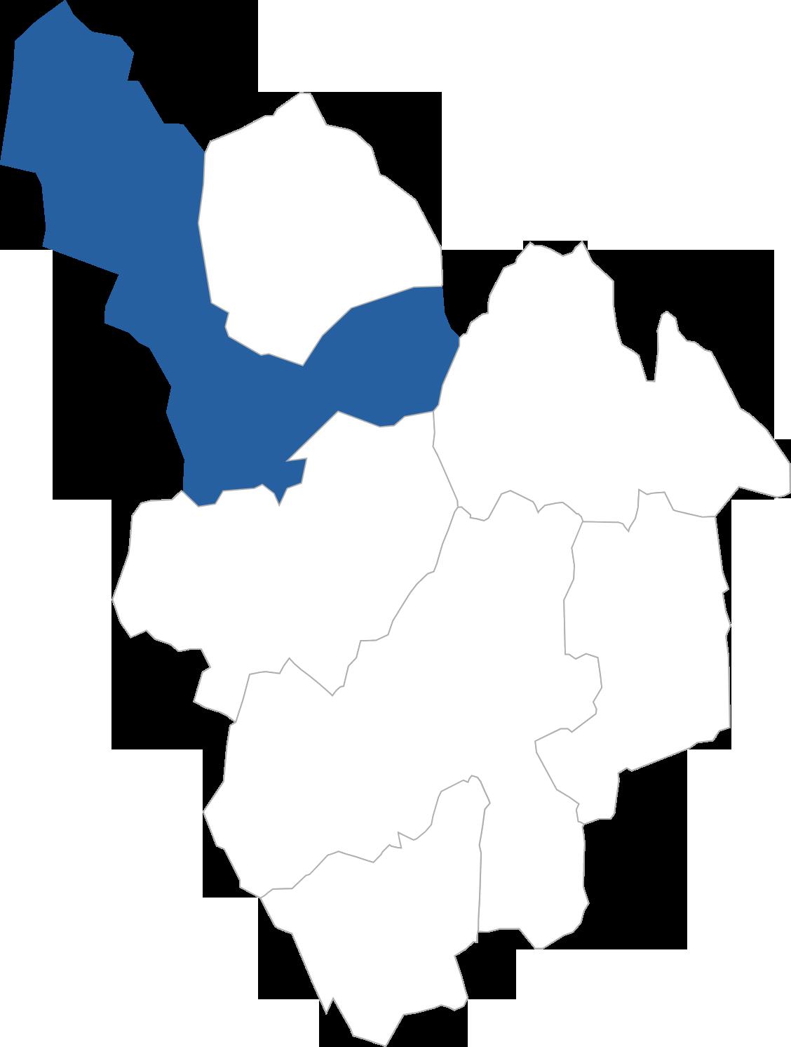 白鳥町の位置