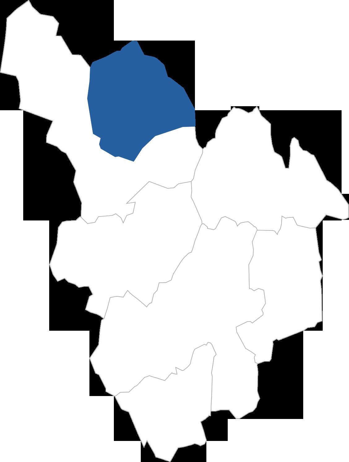 高鷲町の位置
