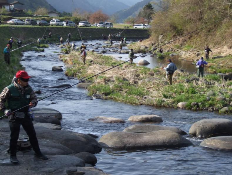 明宝 渓流釣り大会のアイキャッチ画像
